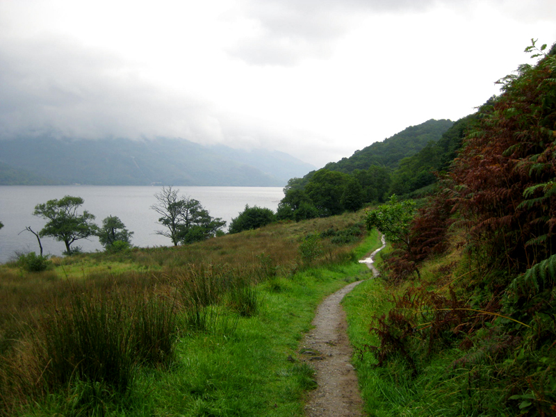 Rowardennan to Inversnaid view